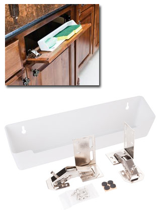 "14"" Wide Sink Tip-Out Tray Pack"